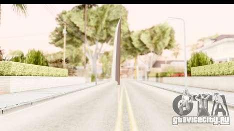 Bleach - Ichigo Weapon для GTA San Andreas третий скриншот
