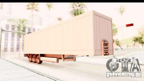 Trailer ETS2 v2 Nr. 2 для GTA San Andreas вид справа