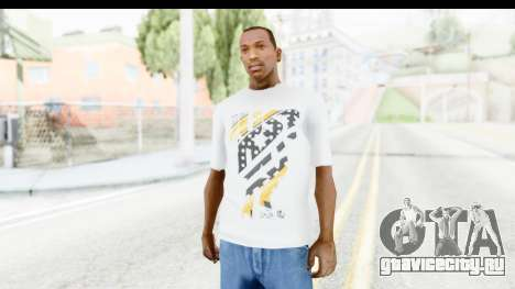 Nike Kyrie Notebook T-Shirt для GTA San Andreas