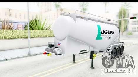 Trailer Zement для GTA San Andreas