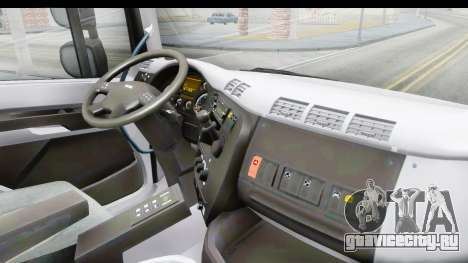 Tatra Phoenix 6x2 Agro Truck v1.0 для GTA San Andreas вид изнутри