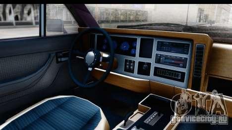 Jeep Grand Wagoneer для GTA San Andreas вид сзади