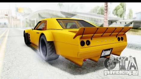 GTA 5 Declasse Drift Tampa для GTA San Andreas вид слева