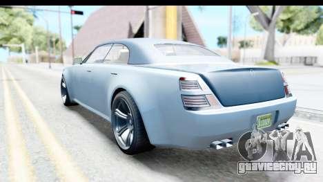 GTA 5 Enus Windsor Drop IVF для GTA San Andreas вид слева