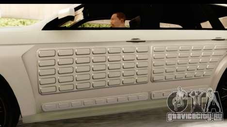 GTA 5 Benefactor XLS IVF для GTA San Andreas вид сбоку
