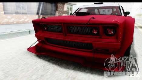 GTA 5 Declasse Drift Tampa IVF для GTA San Andreas вид снизу