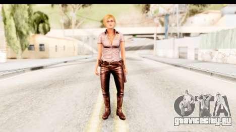 Silent Hill Shattered Memories - Cybil для GTA San Andreas второй скриншот