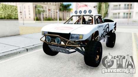GTA 5 Trophy Truck IVF PJ для GTA San Andreas вид снизу
