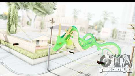 Shenron from Dragon Ball Xenoverse для GTA San Andreas третий скриншот