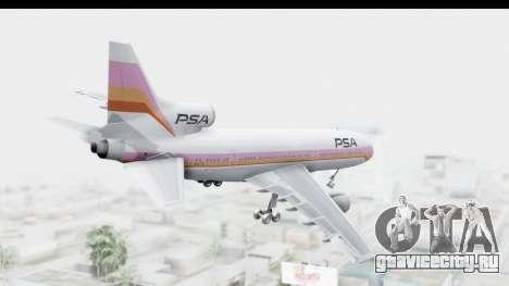 Lockheed L-1011-100 TriStar Pacific Southwest для GTA San Andreas вид справа