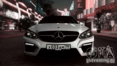Mercedes-Benz E63 GSC для GTA San Andreas вид слева