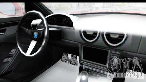 GTA 5 Grotti Bestia GTS with MipMap IVF для GTA San Andreas вид изнутри