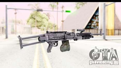 M240 FSK No Attachments для GTA San Andreas второй скриншот