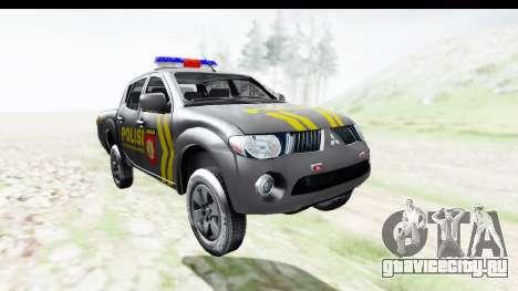 Mitsubishi L200 Indonesian Police для GTA San Andreas