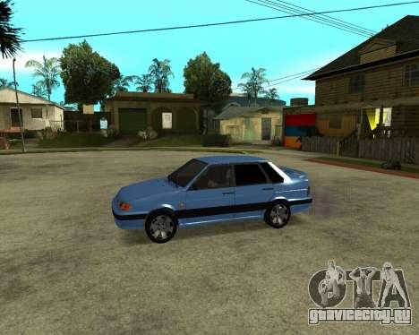 VAZ 21015 ARMENIAN для GTA San Andreas вид изнутри