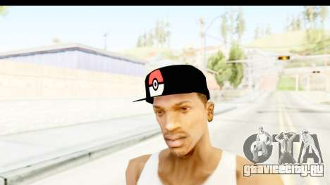 Cap Pokemon Pokeball для GTA San Andreas второй скриншот
