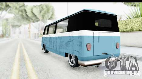 New Camper для GTA San Andreas вид сзади слева