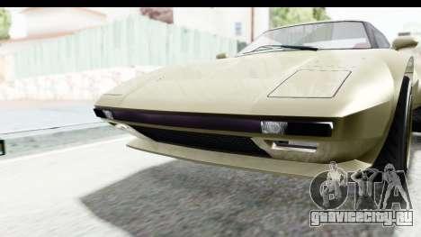 GTA 5 Lampadati Tropos Rallye IVF для GTA San Andreas вид изнутри