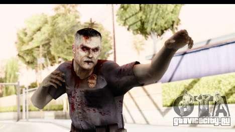 Left 4 Dead 2 - Zombie Policeman для GTA San Andreas