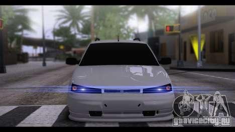 ВАЗ 2111 БПАН для GTA San Andreas вид сзади слева