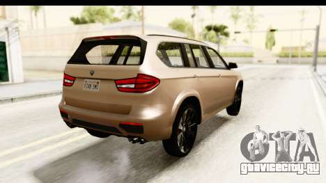 GTA 5 Benefactor XLS IVF для GTA San Andreas вид слева