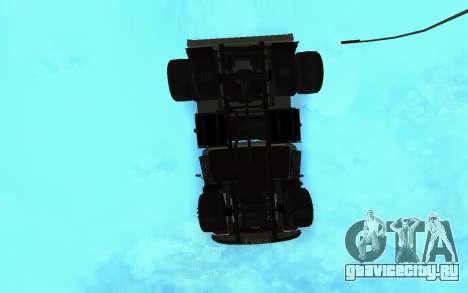 ЗиЛ-130 Армения для GTA San Andreas вид сверху