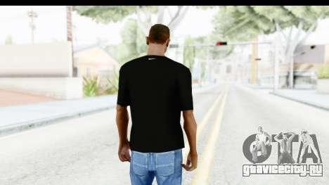 Nike MVP T-Shirt для GTA San Andreas третий скриншот