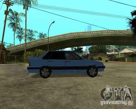 VAZ 21015 ARMENIAN для GTA San Andreas вид сзади слева