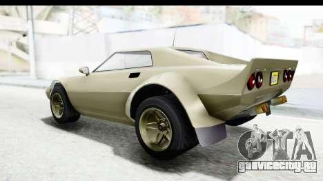 GTA 5 Lampadati Tropos Rallye IVF для GTA San Andreas вид справа