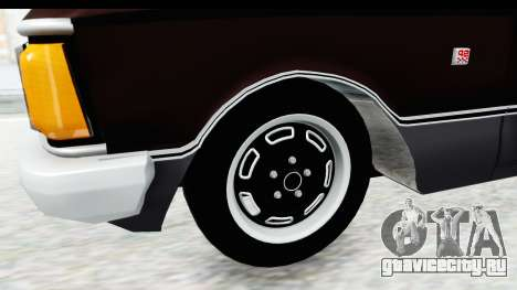 Ford Falcon Sprint для GTA San Andreas вид сзади