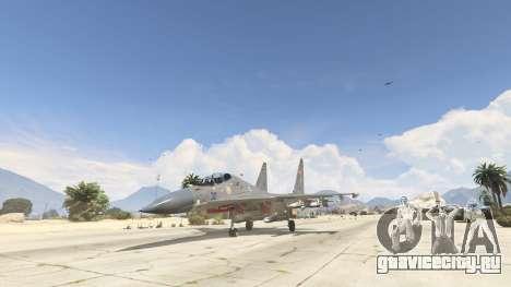 Су-30МКК HQ Китайский для GTA 5