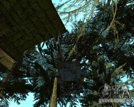 Старая ржавая ГАЗ 53 для GTA San Andreas четвёртый скриншот