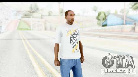 Nike Kyrie Notebook T-Shirt для GTA San Andreas второй скриншот