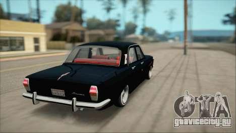 ГАЗ 24 Бояре для GTA San Andreas вид сзади слева