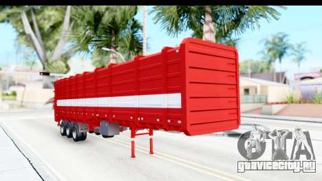 Trailer Cargo для GTA San Andreas вид справа