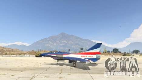 J-10A SY Aerobatic Team для GTA 5