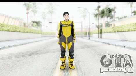 GTA 5 DLC Cunning Stuns Female Skin для GTA San Andreas второй скриншот
