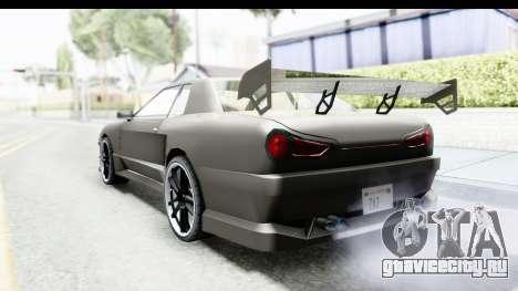 Elegy Sport Type v1 для GTA San Andreas вид слева