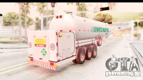 Trailer Brasil v5 для GTA San Andreas вид сзади слева
