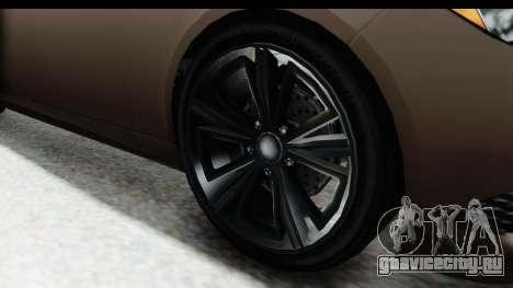 GTA 5 Ubermacht Oracle II SA Style для GTA San Andreas вид сзади