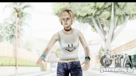 Silent Hill 3 - Heather Sporty White Delicious для GTA San Andreas
