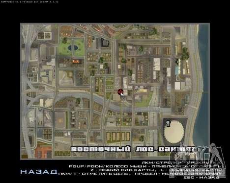 Grove Street Armenian Flag для GTA San Andreas пятый скриншот
