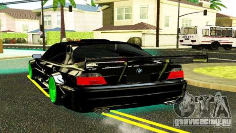 BMW 750 E38 Hamann Turbo Sports для GTA San Andreas вид слева