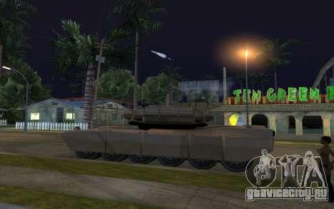 Эффект стрельбы из танка для GTA San Andreas второй скриншот