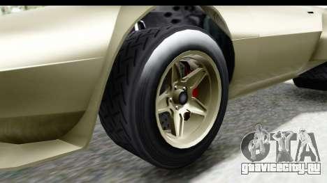 GTA 5 Lampadati Tropos Rallye IVF для GTA San Andreas вид сзади