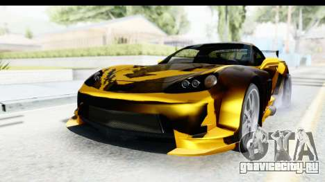 NFS Carbon Chevrolet Corvette для GTA San Andreas