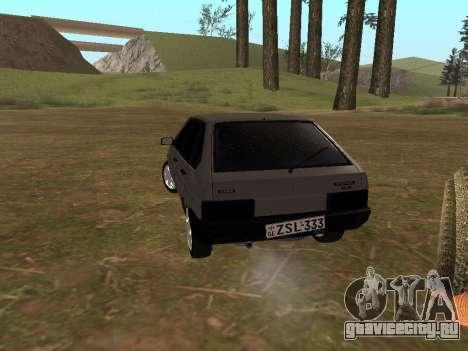 ВАЗ 2109 Классика для GTA San Andreas вид слева