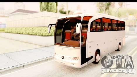 Mercedes-Benz Travego для GTA San Andreas вид сзади слева