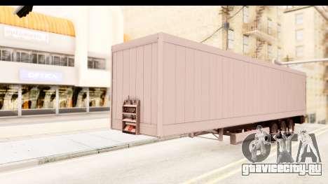 Trailer ETS2 v2 Nr. 2 для GTA San Andreas