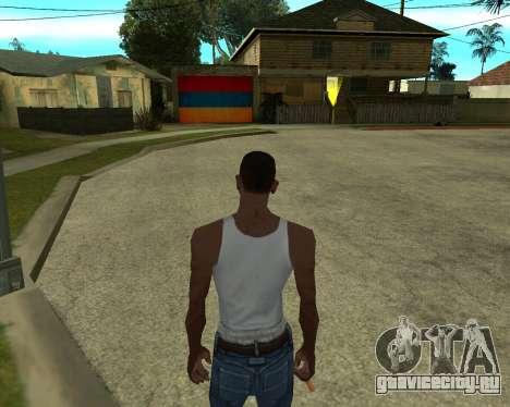 Гараж CJ Armenian для GTA San Andreas четвёртый скриншот